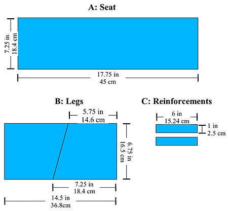 seiza bench design